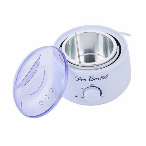 De verwijdering van het haar van de Pro-Wax100 100W waxen kachel ontharing schoonheid handen Hot Wax Warmer kachel Machine Pot ontharingsmiddelen capaciteit: 500ml AC 220V EU Plug