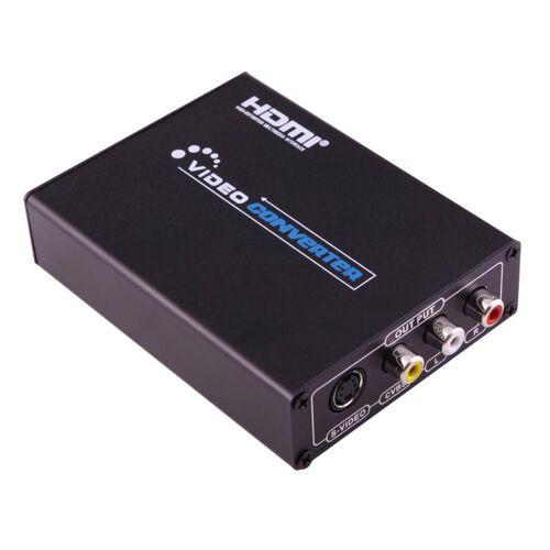 NEWKENG NK-10 HDMI aan AV (CVBS + L/R) + S-Video Video Converter