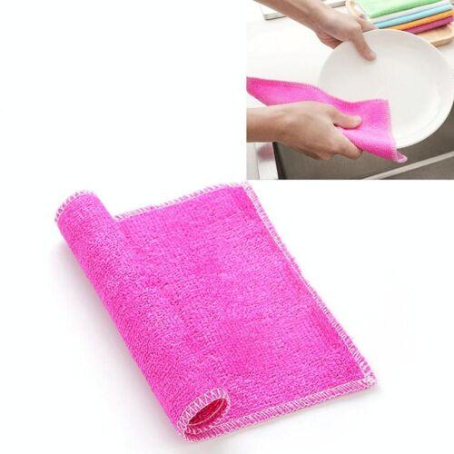 20 stuks bamboe Fiber anti-vet afwassen doek handdoeken