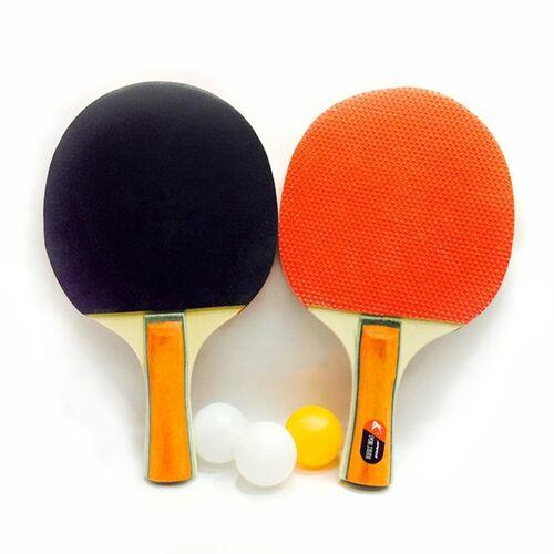 2 in 1 dikke Tafeltennis racket + Tafeltennis set