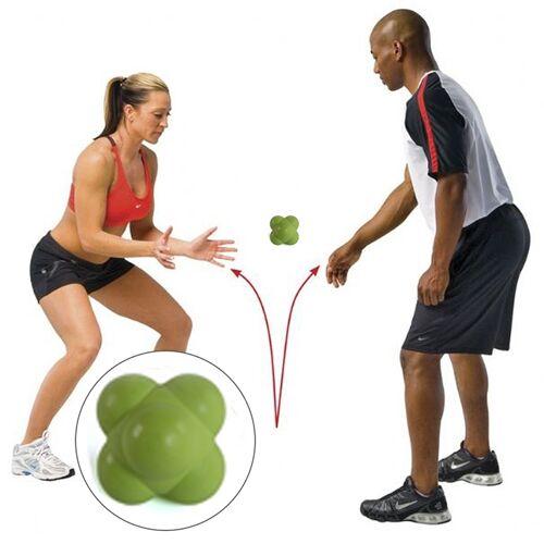 Zeshoekige reactie bal snelheid en behendigheid opleiding Ball opleiding Hand en Coordination(Green) van het oog