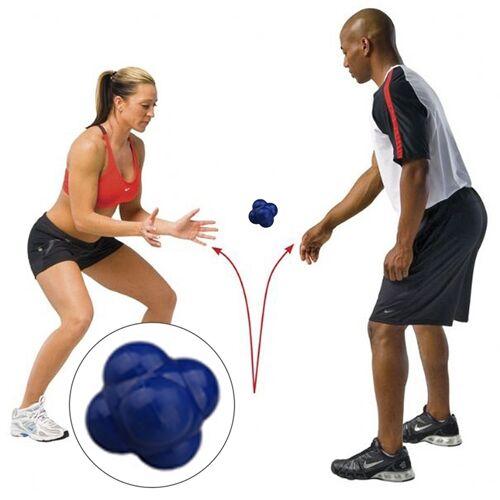 Zeshoekige reactie bal snelheid en behendigheid opleiding Ball opleiding Hand en Coordination(Blue) van het oog