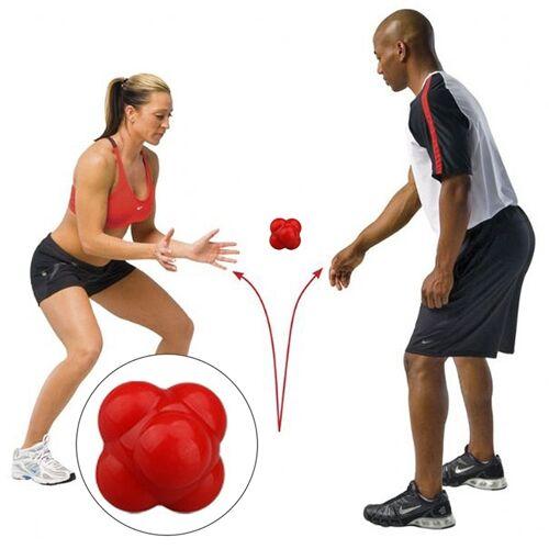 Zeshoekige reactie bal snelheid en behendigheid opleiding Ball opleiding Hand en Coordination(Red) van het oog