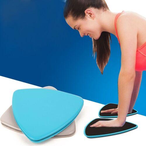 1 paar 17.8 cm fitness oefening core training abdominale training glij schijven glij schijf