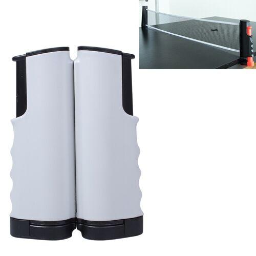 REGAIL intrekbare draagbare tafeltennis net rack (zwart grijs)