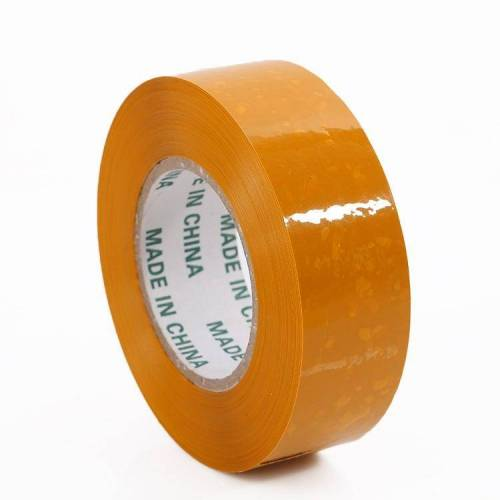 45mm verpakkingstape en brede kleefband lengte: 150m (geel)