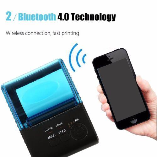 58mm Thermische POS kassa Printer met Bluetooth 4.0