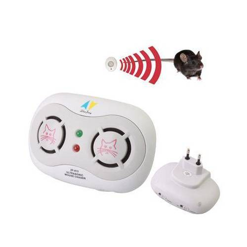 Dual ultrasone Sensor muis Chaser