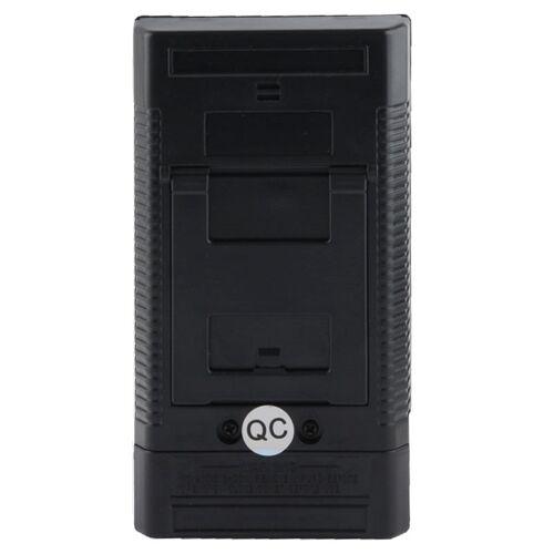 Elektromagnetische straling Detector EMF Meter Tester(Black)