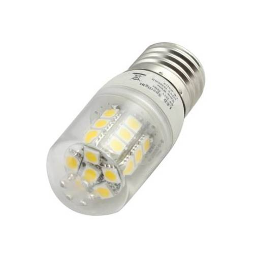 E27 2W energiebesparende lamp 27 LED Warm wit licht AC 220V