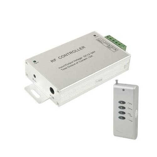 12a RF Audio Controller voor RGB LED-Strip externe Controller(Silver)