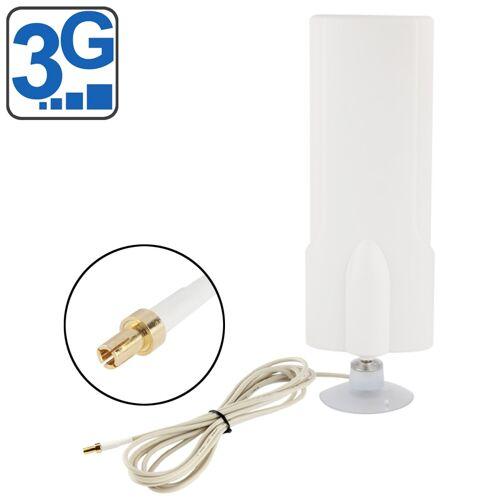 Hoge kwaliteit binnenshuis Antenne 30dBi TS9 3G, Kabel lengte: 1 meter, Afmetingen: 20.7 x 7 x 3 cm