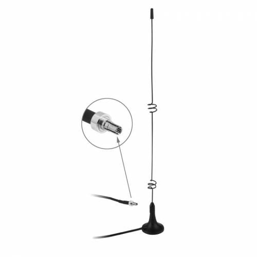 Hoge kwaliteit CRC9 5dbi 3G Antenne voor binnenshuis (zwart)