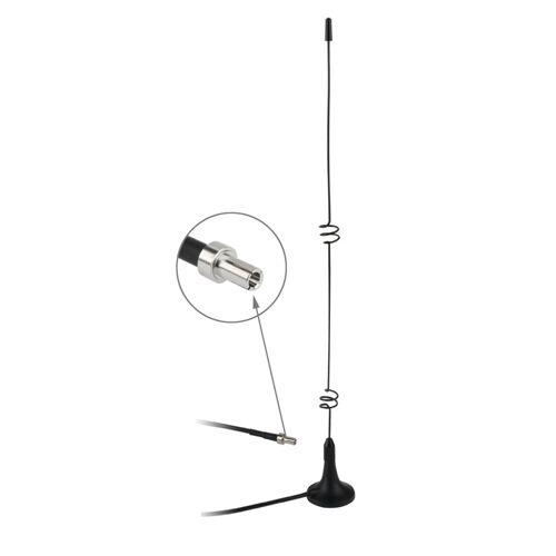 Hoge kwaliteit TS9 5dbi 3G Antenne binnenshuis (zwart)