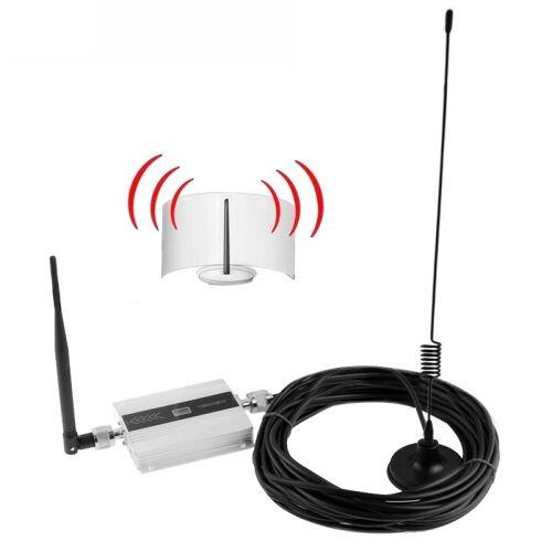 3G signaalversterker met signaal versterken antenne kabel lengte: 10m(Silver)