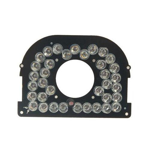 38 LED-infrarood lamp bord voor CCD-camera infrarood hoek: 60 graden (3006-25)