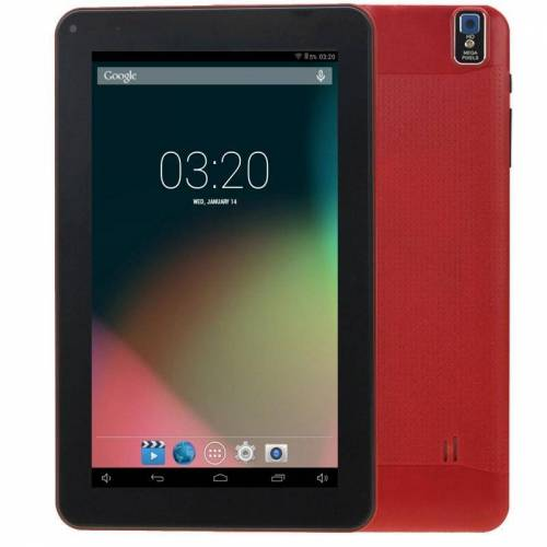 9.0 inch Android 4.0 Tablet-PC 1 GB + 8 GB Android 4.0 AllWinner A33 Quad Core tot 1.2 GHz WiFi(Red)
