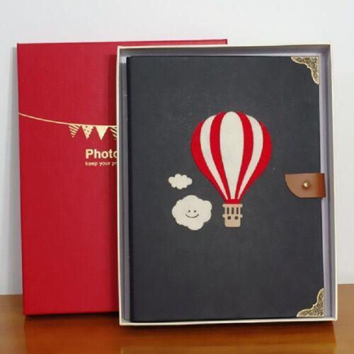 Hand-ingericht geplakt foto album grootte: S (hete lucht ballon)
