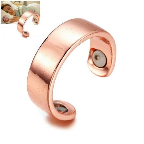 Acupressure Anti Snurk ring behandeling reflexologie anti snurken Apneu slaap apparaat (goud)