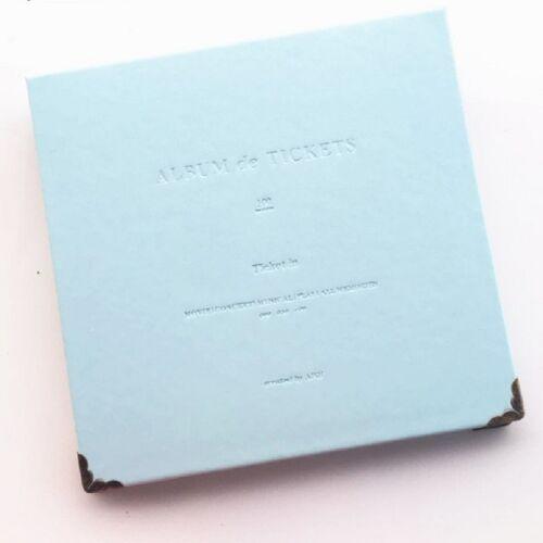 Bill Storage Boek Concerttickets Movie Ticket Ticket Ticket Favorieten Albums Boek (Sky Blue)