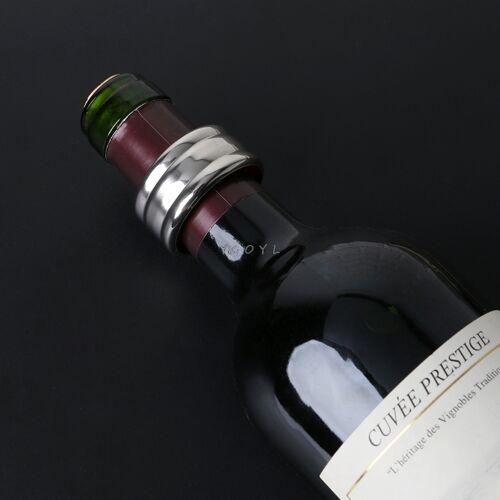 5 STKS roestvrijstaal rode wijn stop ring