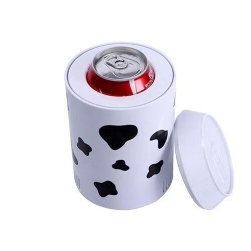 USB Milk Can Mini Hot and Cold Car Koelkast