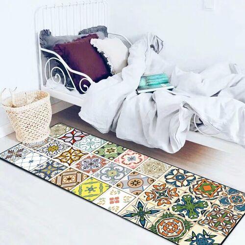 Moderne geometrische keuken anti-Skid mat tapijten tapijten grootte: 50x80cm