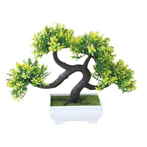 Simulatie Welkom Pine Home Decoratie Desktop Decoratie (Geel)