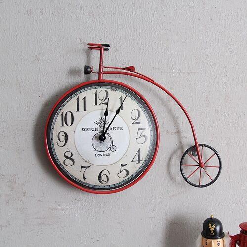 Fiets muur klok gepersonaliseerde decoratieve klok muur decoratie wanddecoratie