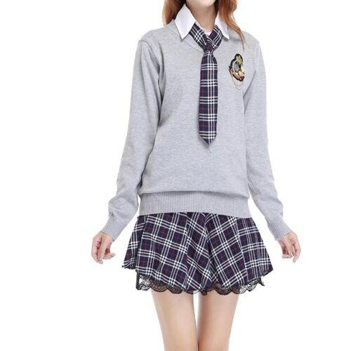 College Student Uniformen Pak Size:M (As Show)