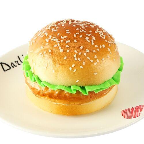 PU simulatie Hamburger model nep brood ornamenten fotografie Props Home Decoratie venster weergeven