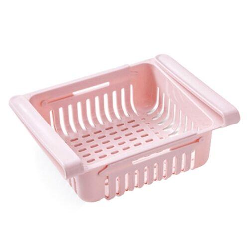 Koelkast opbergdoos koelkasten lade plank (roze)