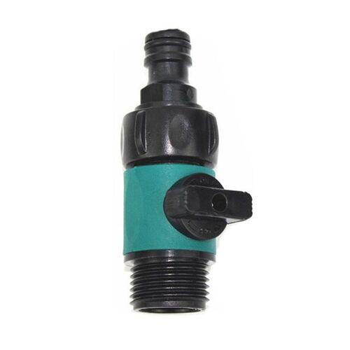 Rechte klep open lange staaf telescopische water borstel schakelaar tepel auto accessoires (groen)
