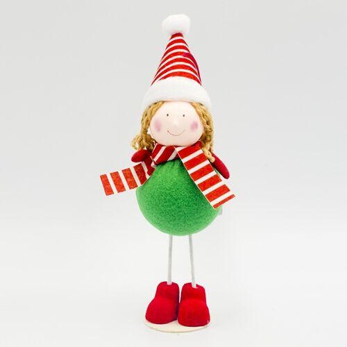 2 PC'S kerst creatieve stof Bubble Doll decoratie benodigdheden (Angel)