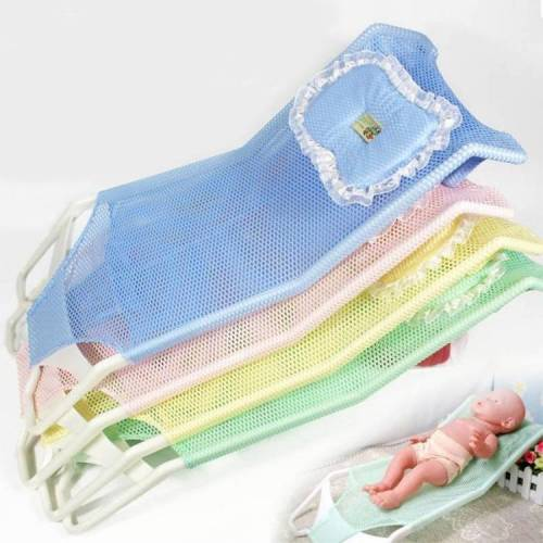 Pasgeboren Bad netten kunnen zitten en baden in een bad bed willekeurige kleur levering