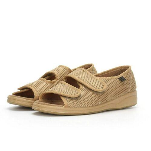 Verbreding en Fatning van middelbare leeftijd schoenen grootte: 40 (kaki)