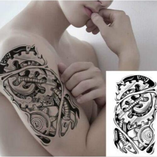 2 stks mode arm wegwerp Tattoo sticker (TH-512)