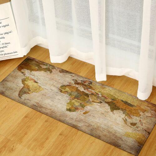 Wereld kaart tapijten rug slaapkamer Kids baby spelen kruipen mat Memory Foam gebied tapijten tapijt grootte: 60x180cm (kleur blok)