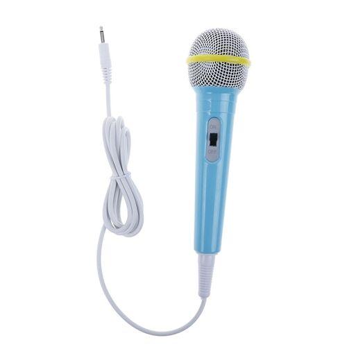 Kinderen intelligent robot vroege educatie verhaal machine K Song microfoon (blauw)