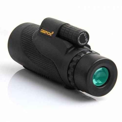 Monoculaire verrekijker High Power HD Full Optics telescopen grootte: 12 X 50 kleur: standaard