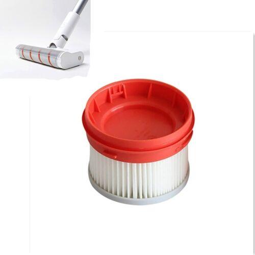 2 stks stofzuiger filter Reinigingshulpmiddel voor Dreame v9 draadloze handheld stofzuiger (wit)