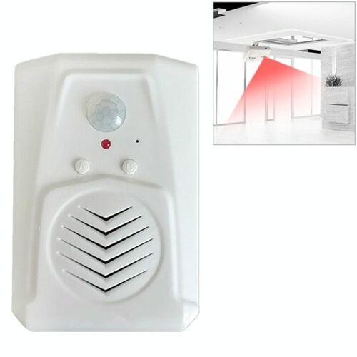 Tweeweg deurbel opname Welkom inductie deurbel Voice prompter (wit)
