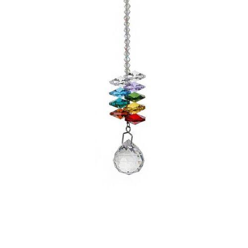 Tegenhanger van het kristal DIY hanger Home Decoratie bruiloft decoratie kraal gordijn auto decoratie (20 # verlichting bal hanger)