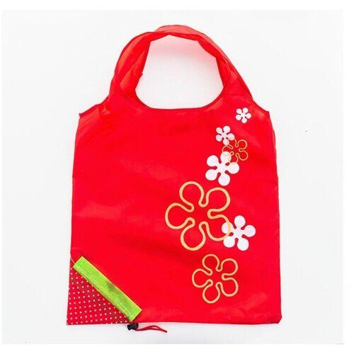 2 PC'S creatieve aardbei winkelen herbruikbare vouwen herbruikbare kruidenier boodschappentas (rood)