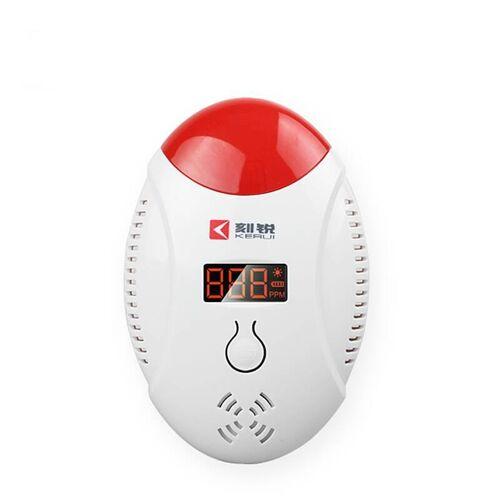 KERUI LED digitale display kool monoxide detectoren stem strobe Home veiligheid veiligheid CO gas sensor alarm