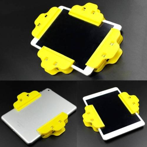 10 PCS mobiele telefoon kantelen vaste clip flat screen lijmclip (Random Color Delivery)