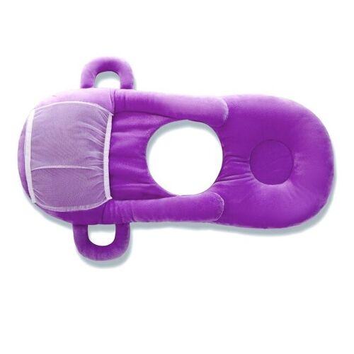 Baby fles rack gratis hand fles houder katoen babymelk flesvoeding leren Nursing kussen kussen (paars)