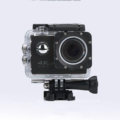 WIFI waterdichte actie camera fietsen 4K camera ultra duiken 60PFS kamera helm fiets cam Onderwatersport 1080P camera (zwart)