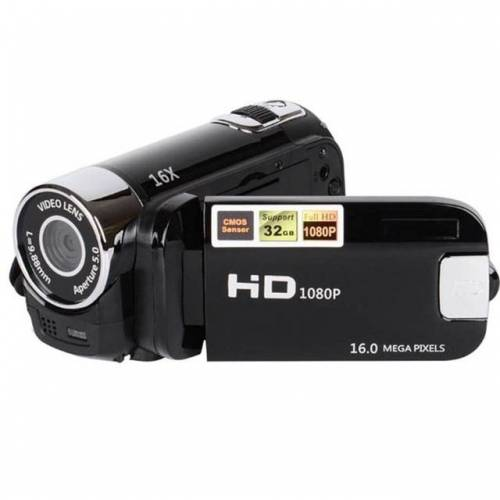 16X digitale zoom HD 16.000.000 pixel Home reizen DV camera (zwart)