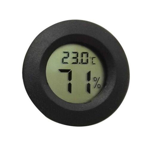 LCD digitale aquarium thermometer mariene water terrarium accessoires temperatuur meetinstrument (zwart)
